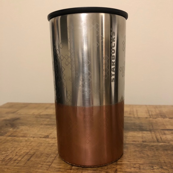 Starbucks 8 of oz stainless steel to go cup